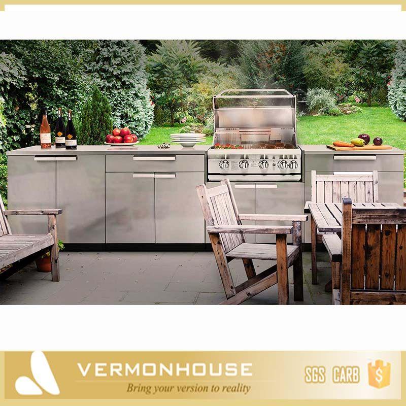 2018 Hangzhou Vermont Outdoor Kitchen Stainless Steel Us 188 888 Set Kitchen Cabinets Zhejiang China Outdoor Kitchen Kitchen Modular Kitchen Cabinets
