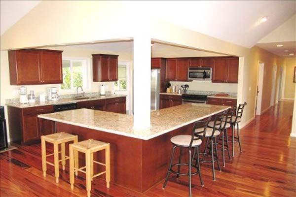 koa hardwood flooring kitchen | hardwood floors | pinterest
