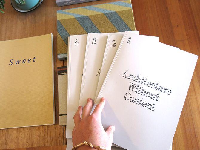 Bildergebnis für architecture without content book pdf