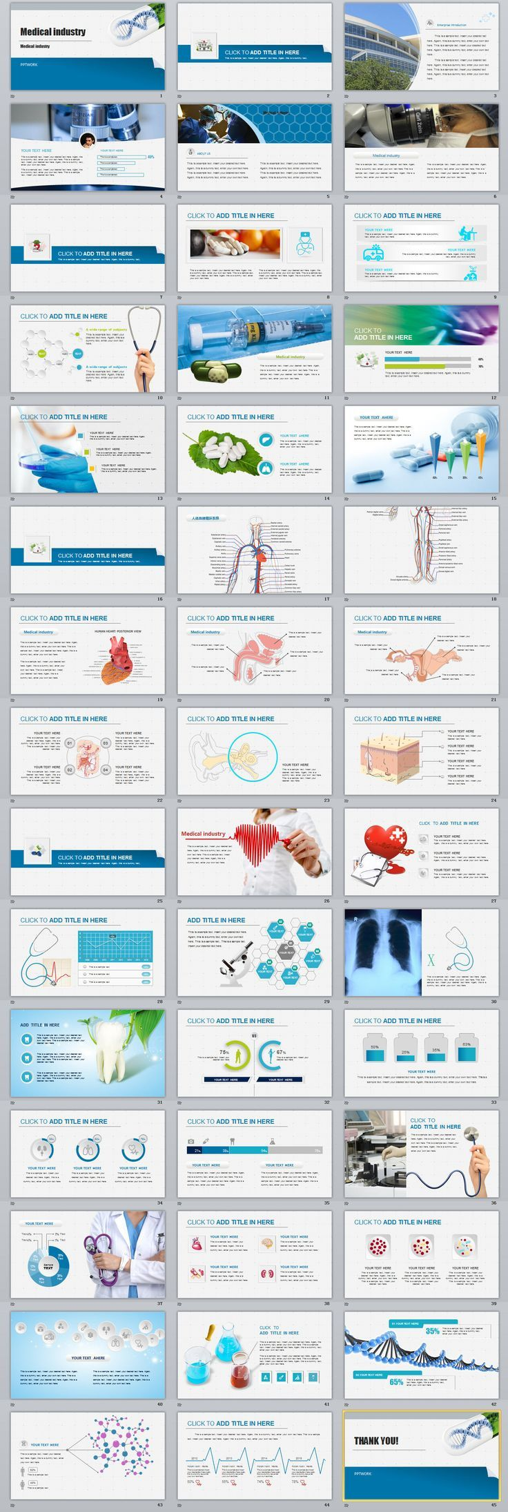 Business infographic 45 best medical industry powerpoint business infographic 45 best medical industry powerpoint templates on behance powerpoint templates toneelgroepblik