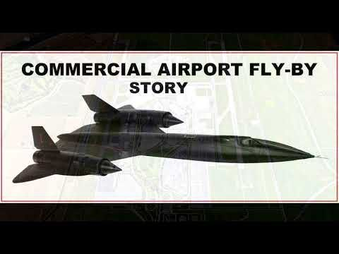 sr 71 buzzing the tower story of blackbird commercial airport