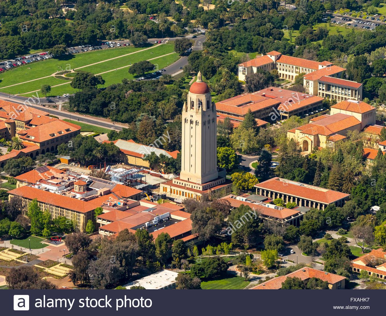 Stanford dorm virtual tour stanford university stanford dorm rooms - University Campus Stanford University With Hoover Tower Palo Alto California Silicon Valley