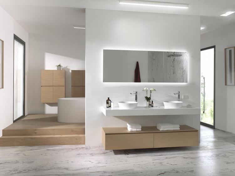 Badkamer Ideeen Modern : Modern eiken badkamercollectie o product in beeld