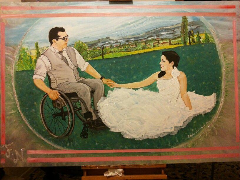 Noemi e Fabio dipinto