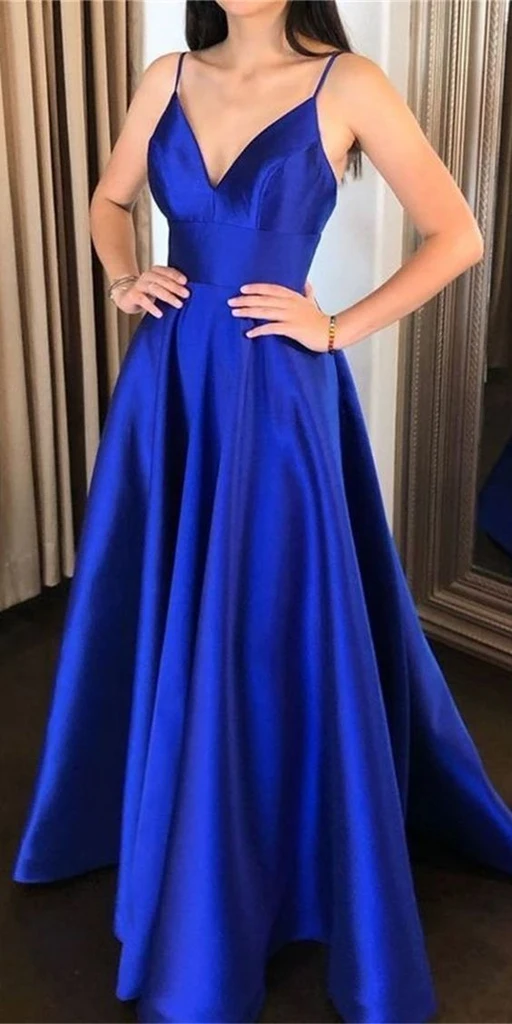 Royal Blue Prom Dress 2020 Dresses For Event Evening Dress Formal G Thedresstailor Simple Prom Dress Long Prom Dresses Long Popular Prom Dresses