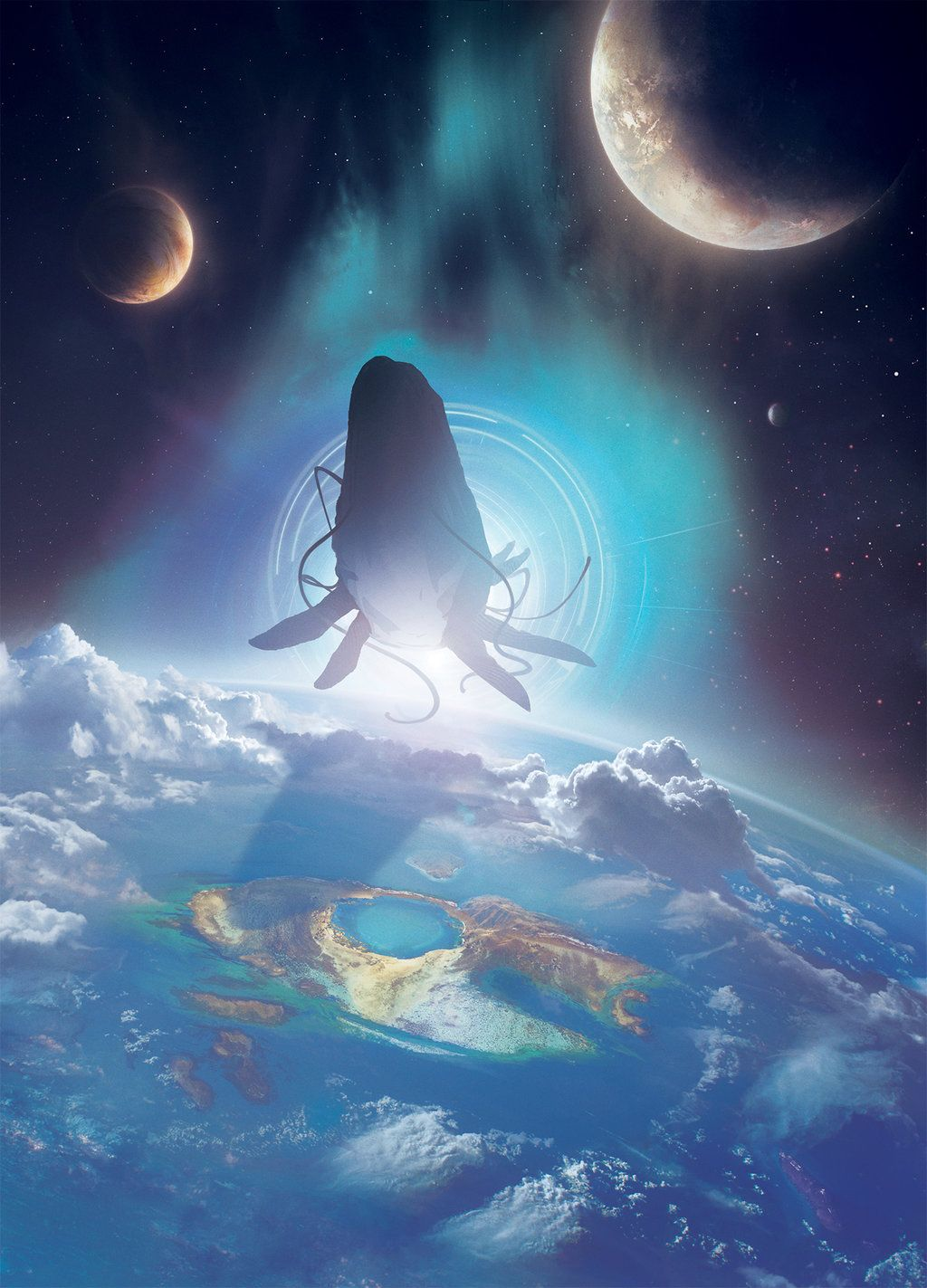 Book Cover Les Abimes d Autremer by Jessica-Rossier on DeviantArt