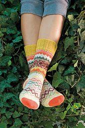 Ravelry: Lozenges socks pattern by Ute Eismann, Edelgard Janssen