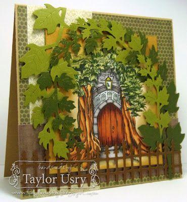 Secret Door (With images) Cards handmade, Secret door