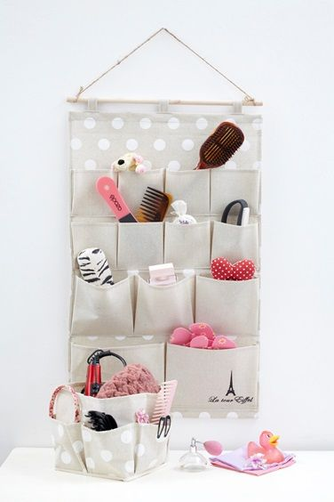 Organize your bathroom and place all your stuff in order!