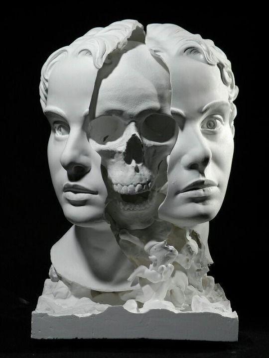 Optically Addicted | Картинки с черепами, Театральные ...