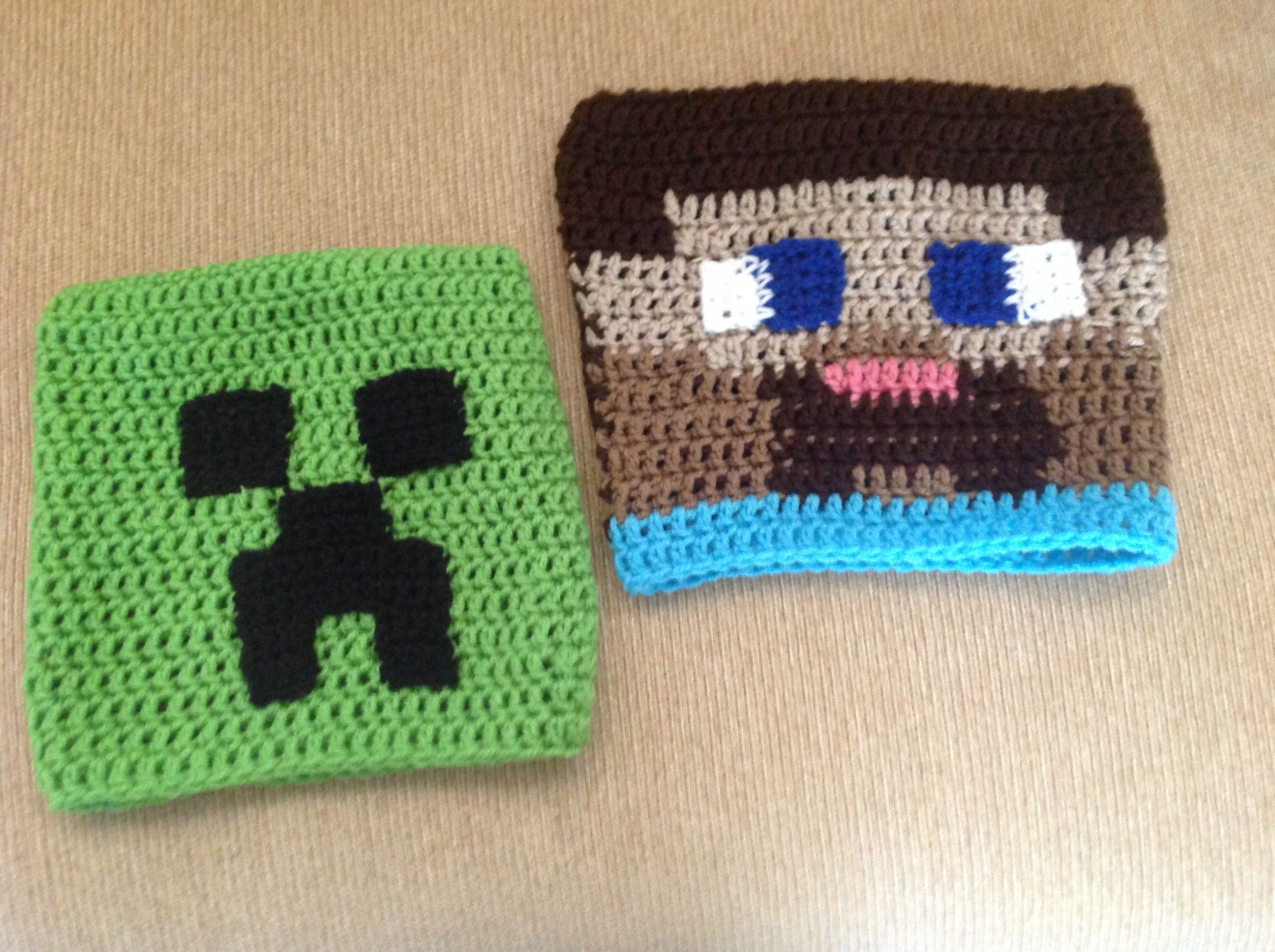 Smartapple Creations - amigurumi and crochet: Minecraft Steve vs ... | 1936x2592