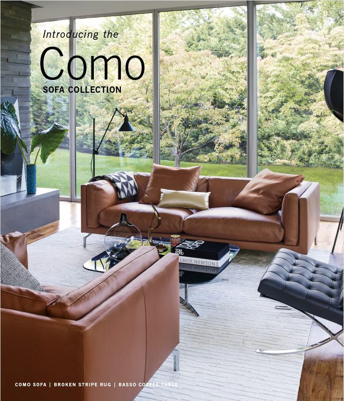 Introducing The New Modern Home: Introducing The SOFA COLLECTION Como: DWR