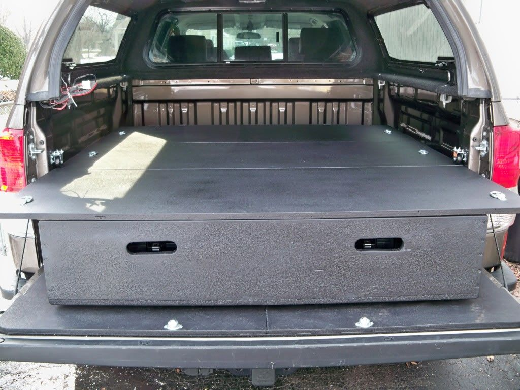 Diy bed storage system for my truck truck bed storage