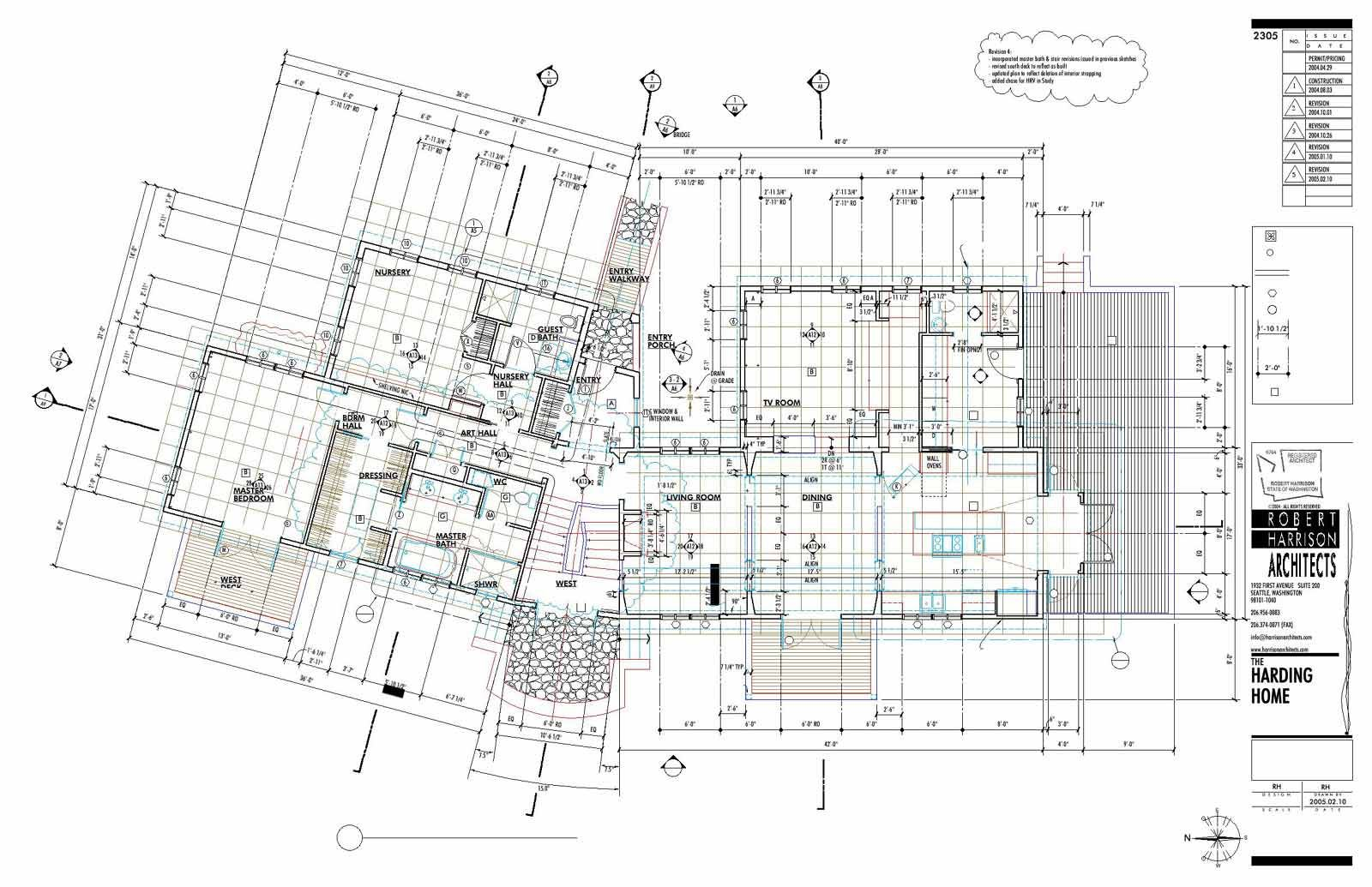 Harrison Architects | Construction Drawings. | Construction drawings ...