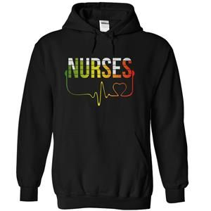 NURSES LOVE MUSIC LIMITED EDITION TSHIRT HOODIE