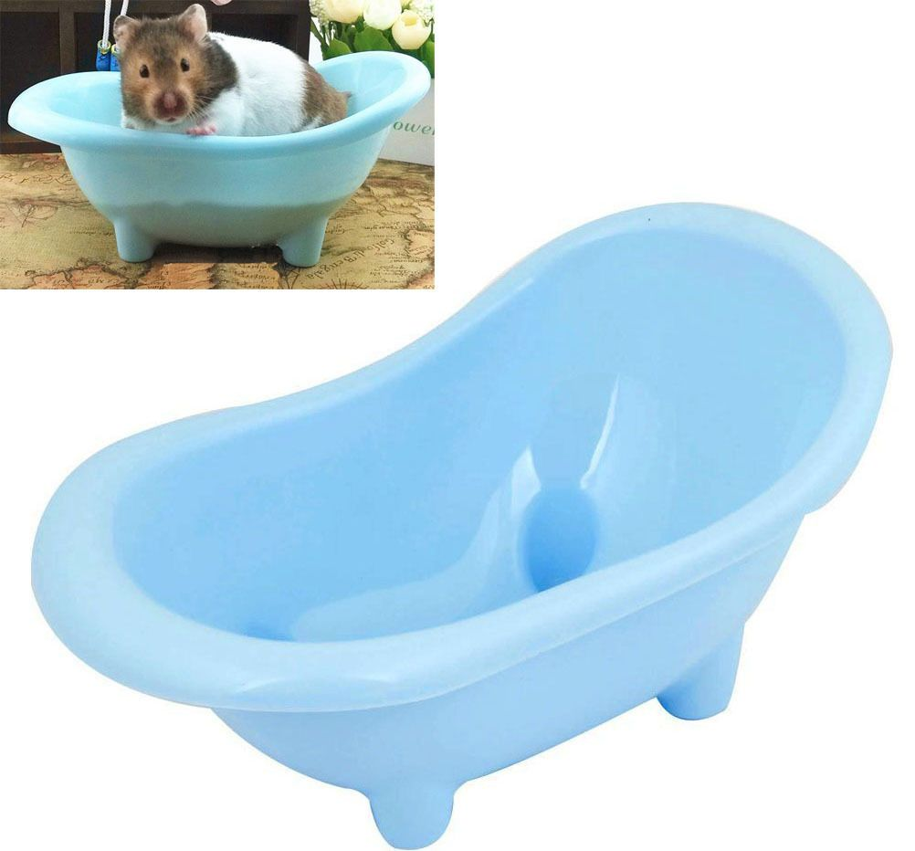 $4.58 - Hamster Bathtub Small Pets Sauna Bath Sand Room Bathroom ...