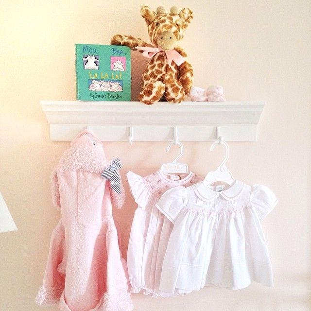 How cute is that #babyaspen robe hanging in #babypizzazzerie's nursery?