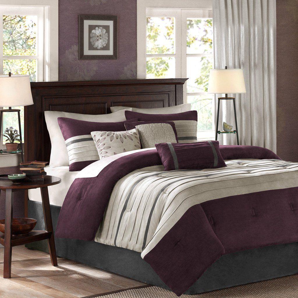 Queen Size Luxury Bedding Comforter Set in