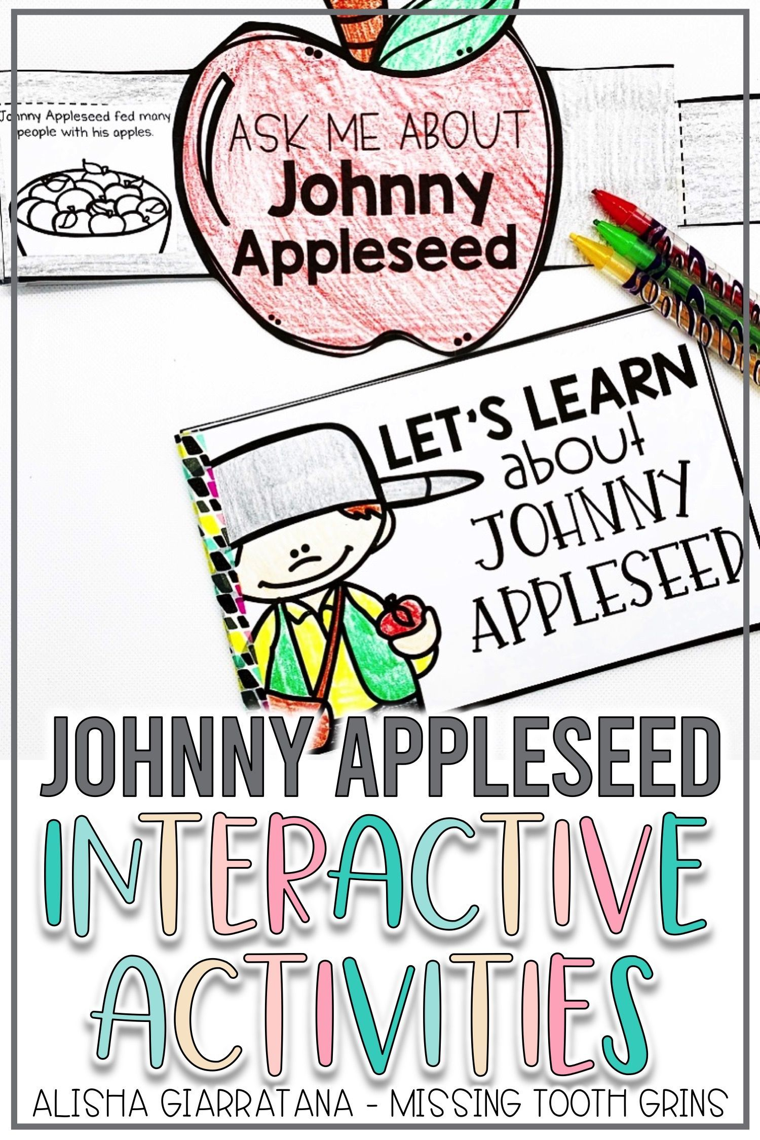 Johnny Appleseed Interactive Activities