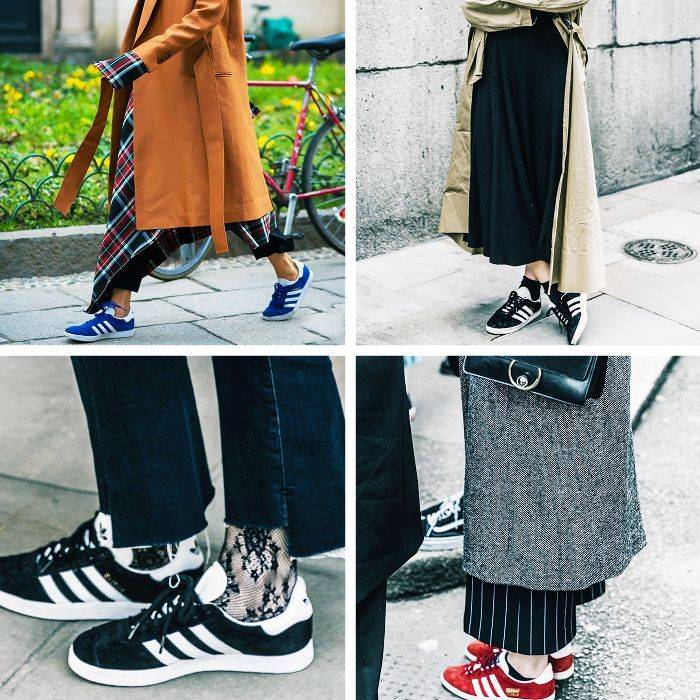 The fashion-girl favourite brand, Adidas, shared the sneaker style everyone's going to purchase next year.