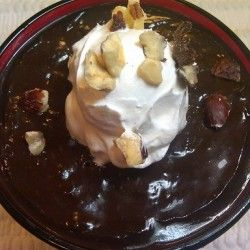 Frangelico Chocolate Pudding