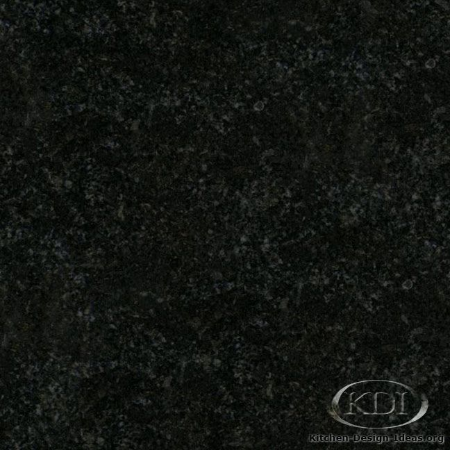 Zimbabwe Black Granite (Kitchen-Design-Ideas.org