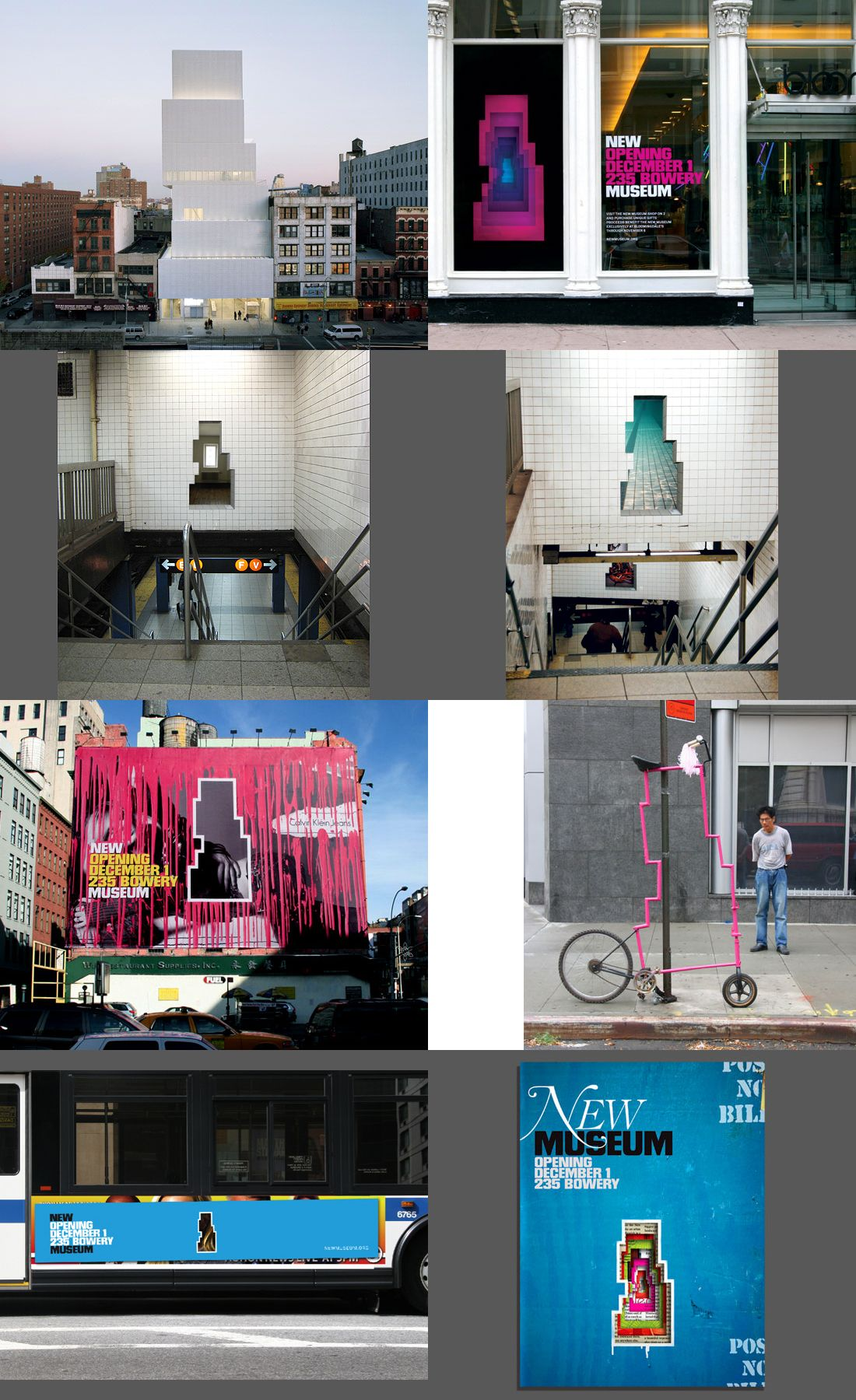 New Museum _ Wolff Olins Visual identity system, New