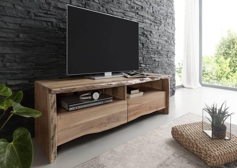 TV Board Akazie 151x45x50 Lackiert LIVE EDGE #108 Jetzt Bestellen Unter:  Https:/