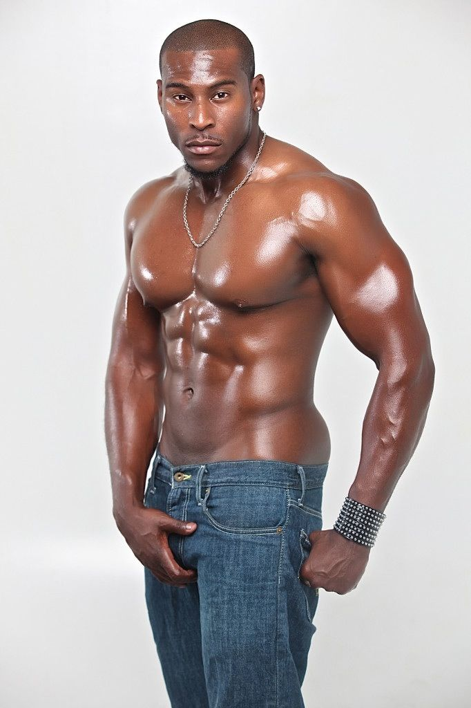 Hot muscular black men