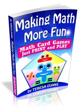 A great website with freebies for making math more fun for your kids!