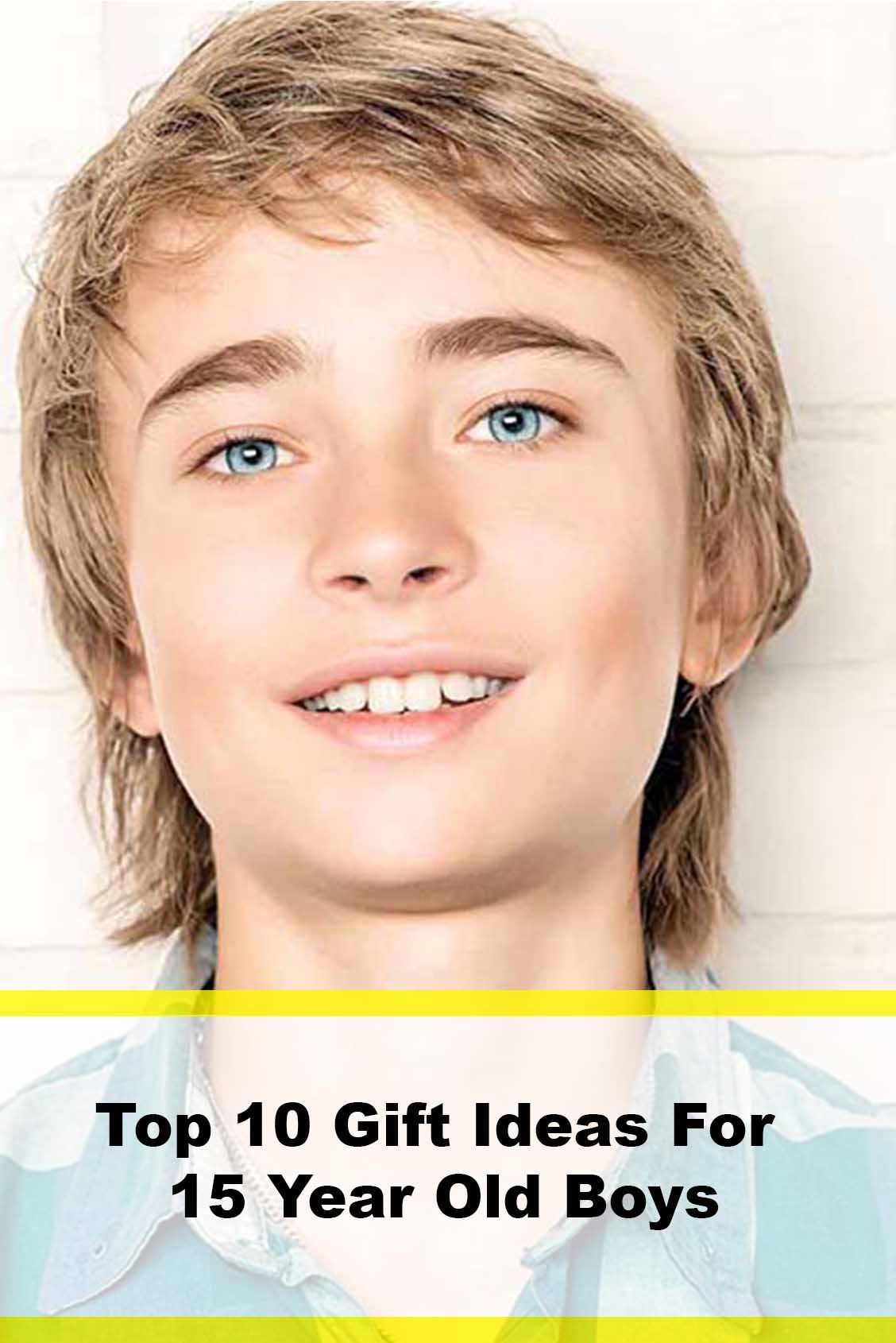 Cool Gift Ideas for 16 Year Old Boys 15 year old boy