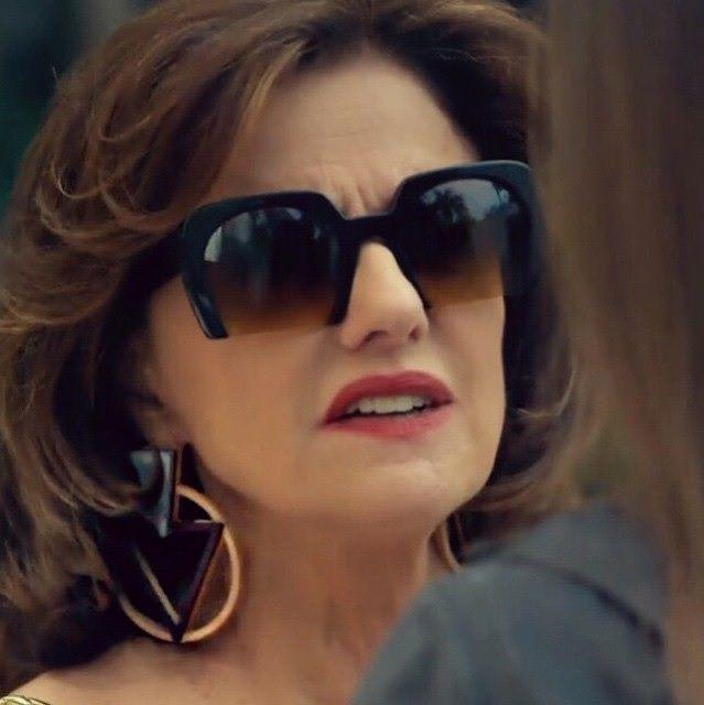 Marieta Severo arrasou na produção na novela