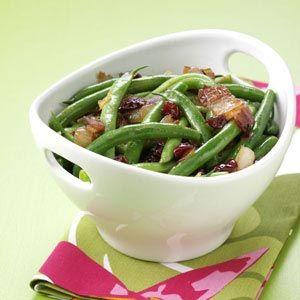 Maple-Glazed Green Beans Recipe