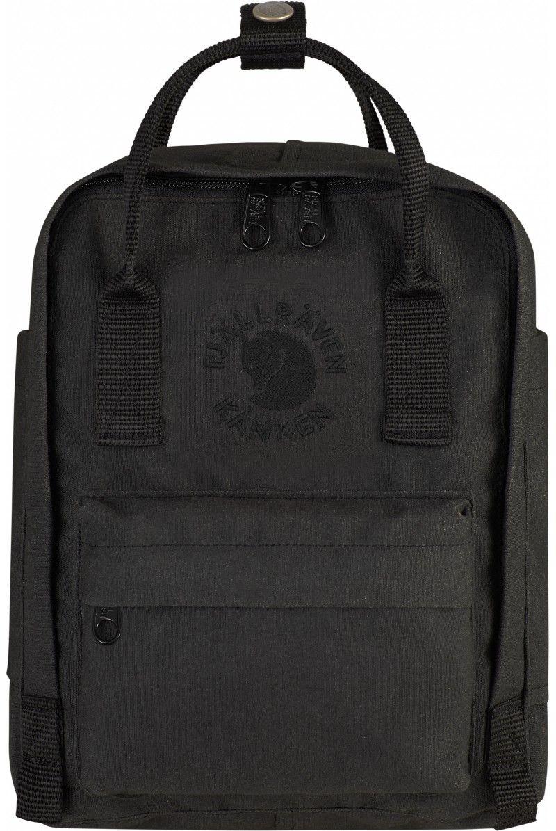 1e273ac623 Fjallraven Re-Kanken Mini Backpack Black - Fjallraven Kanken #backpack  #fashion #bags #blackfriday #thanksgiving #gift