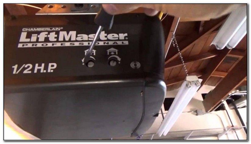 Liftmaster Garage Door Opener Limit Switch Adjustment Check More At Http Perfectsolution Design Liftmas Garage Door Opener Garage Doors Craftsman Garage Door