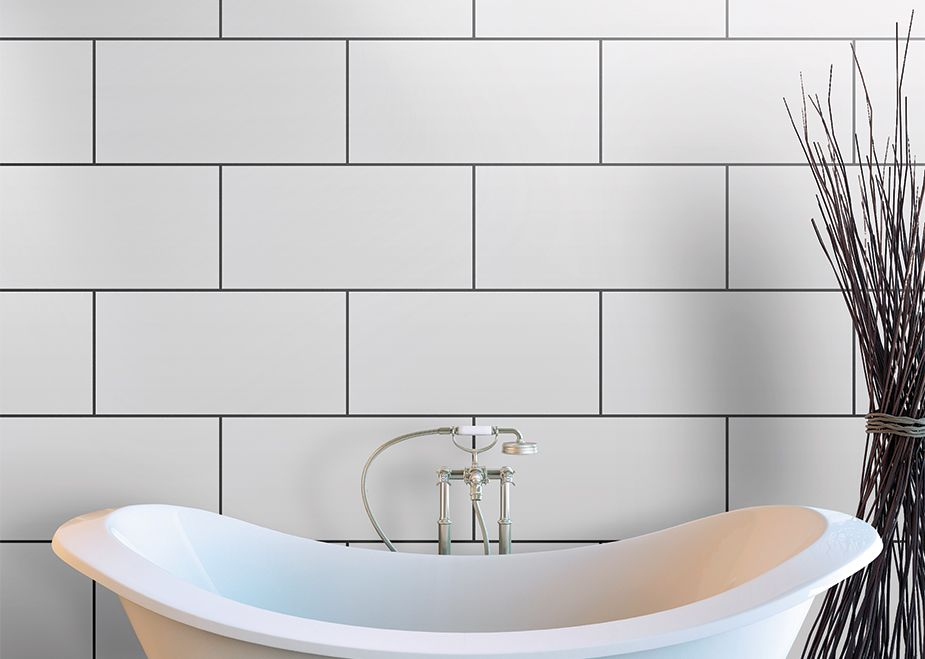 White Tiles For A Simple Clean Bathroom Look Bathroom Beautiful Bathrooms Bathroom Renos