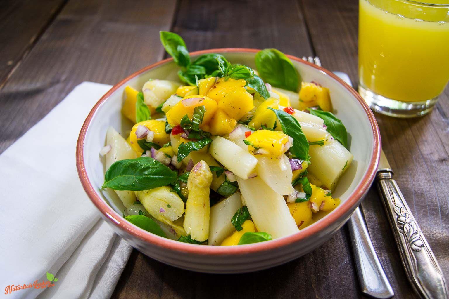 heute gibt es einen leckeren spargel mango salat der sich perfekt als beilage zum grillen. Black Bedroom Furniture Sets. Home Design Ideas
