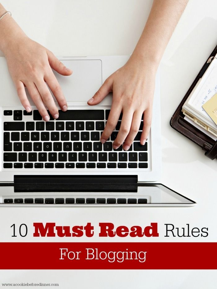 Wow! These are so spot on! A great read a blogger or someone hoping to start a blog. #7 is SO important!