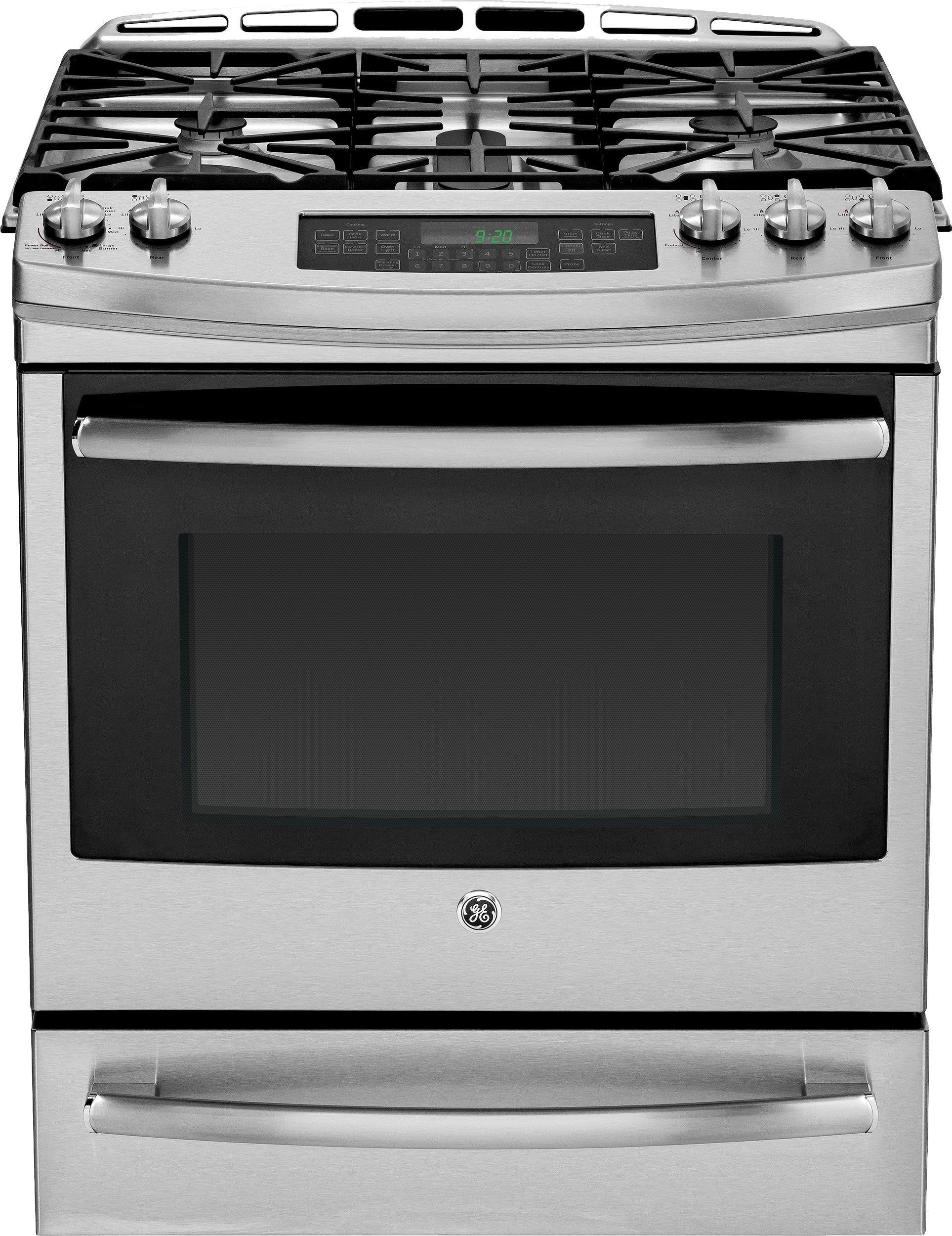 Ge Profile Pgs920sefss 30 Quot Slide In Gas Range Appliance