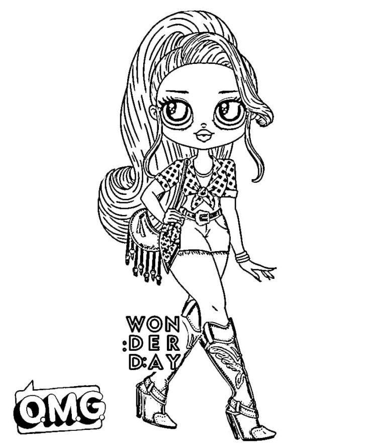 Ausmalbilder Lol Omg Drucken Sie Kostenlos Neue Puppen Lol Dolls Coloring Books Coloring Pages