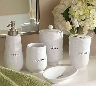 the many faces of mom makeover walmart bathroom accessories - White Bathroom Accessories Ceramic