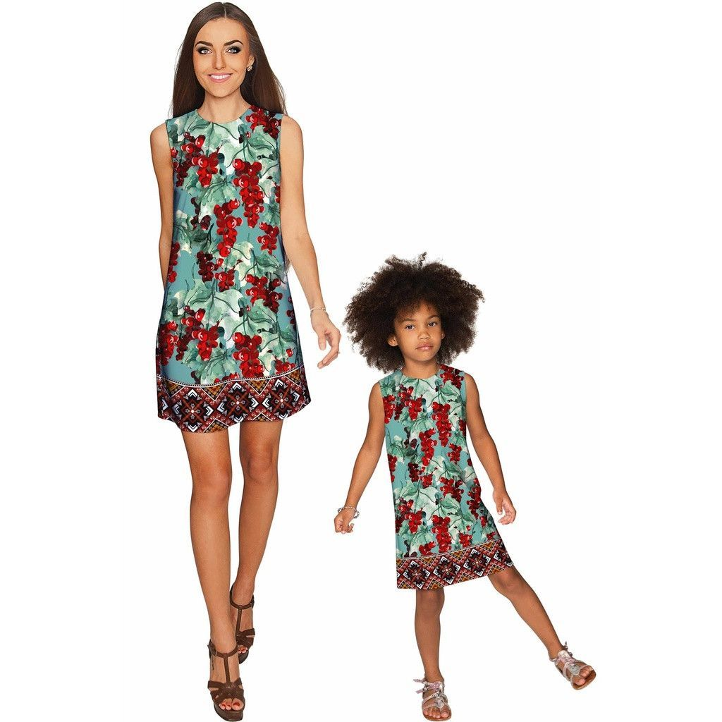 Toscana Adele Shift Party Mother and Daughter Dress