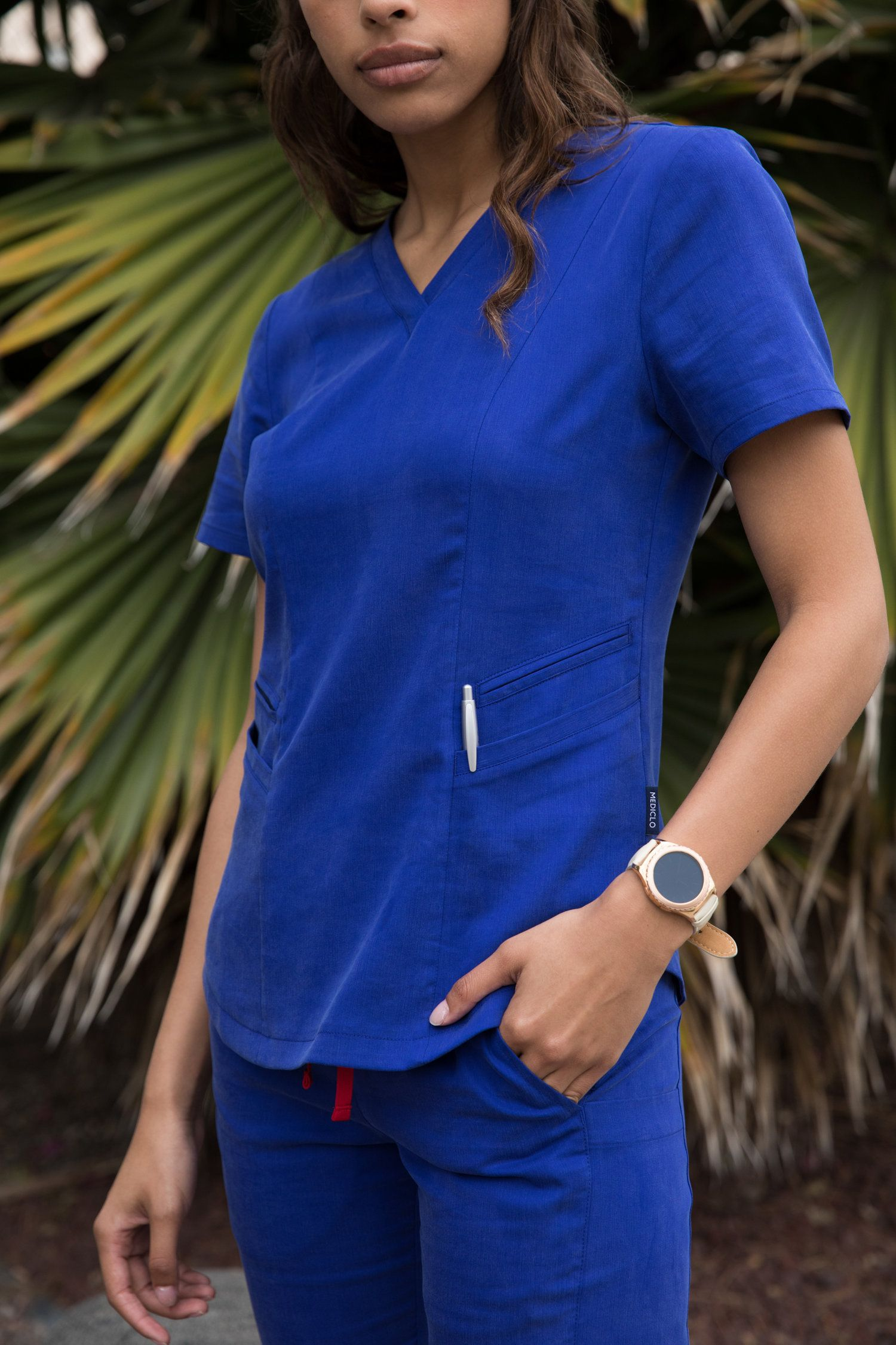 Royal Blue: be royal😆 | Medical scrubs, Scrubs, Fashion