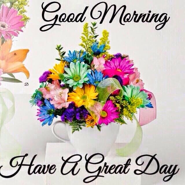 Good Morning Have A Great Day Daily Blessings Pinterest Good