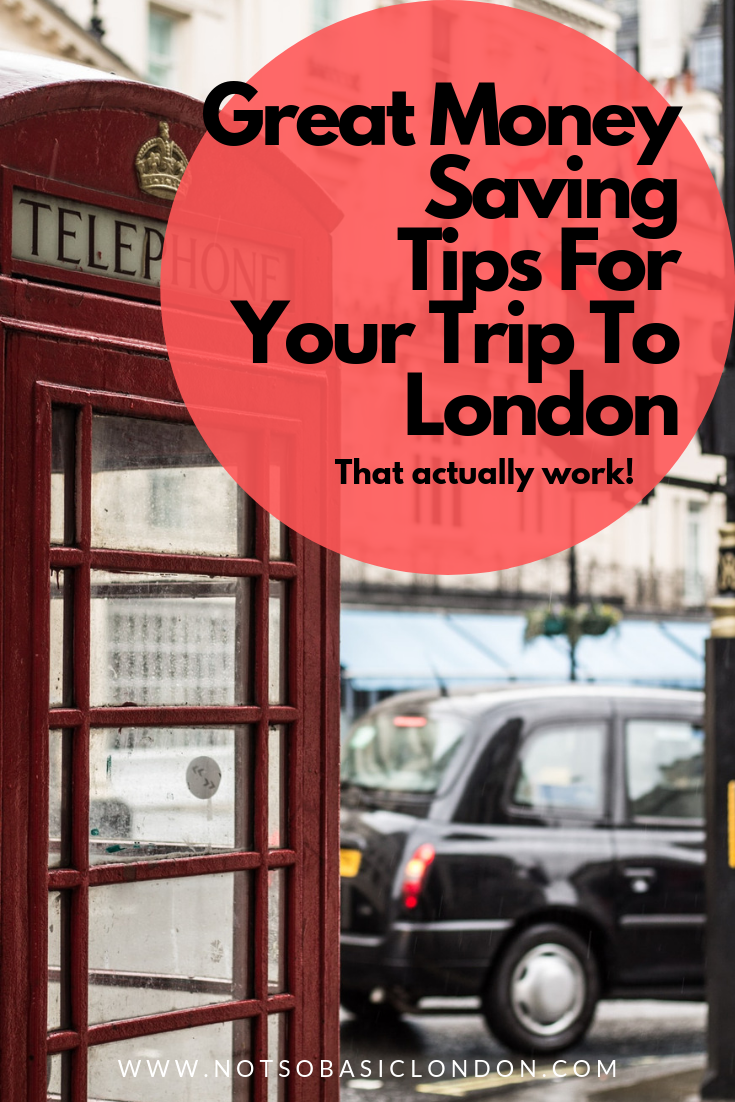 Great Money Saving Tips For Your Trip to London #london #visitlondon #londontrip #moneysavingtips #budget #budgetholiday #londononabudget