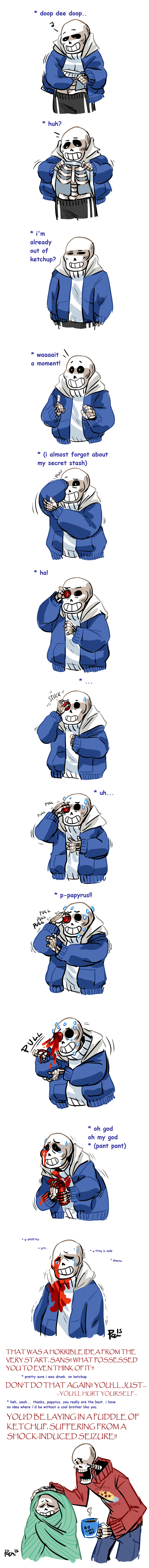 Sans makes an awful decision by bPAVLICA on DeviantArt