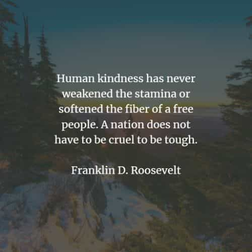 50 Famous quotes and sayings by Franklin Roosevelt