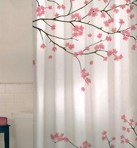 I M Loving My New Japanese Cherry Tree Fabric Shower Curtain