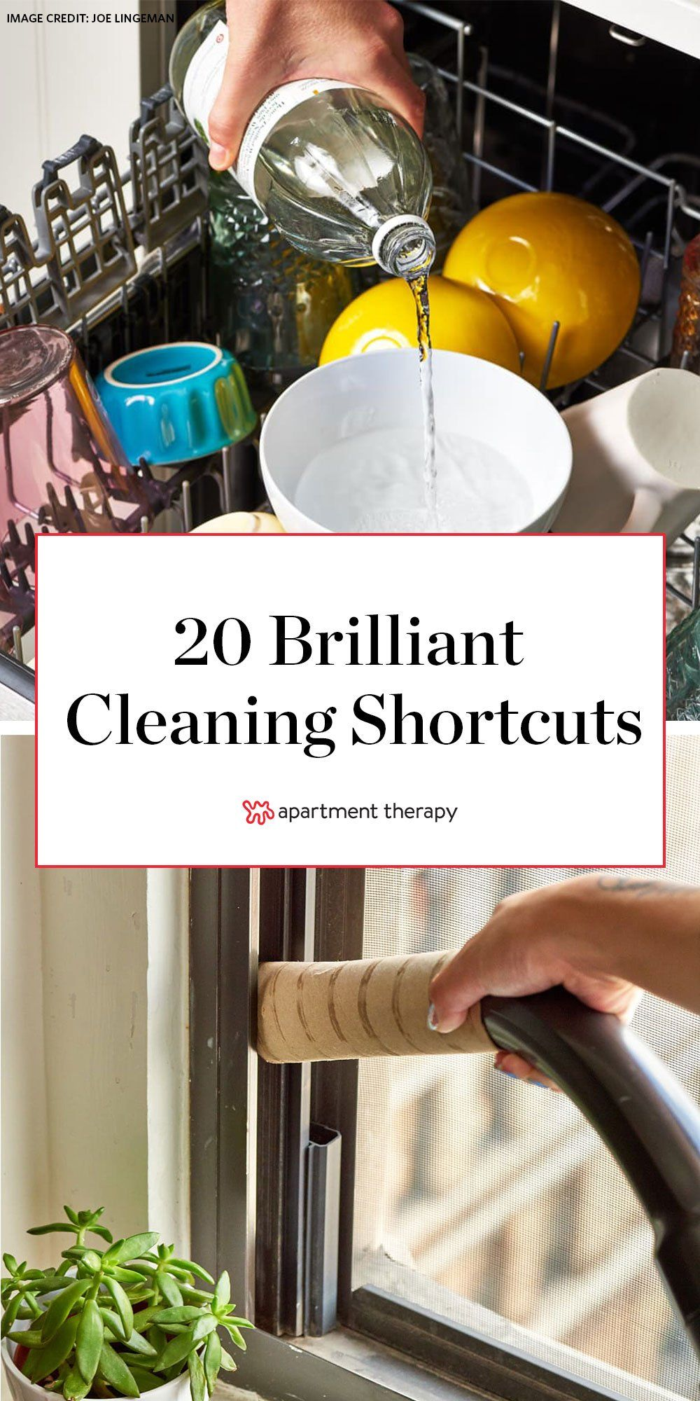 20 Brilliant Cleaning Shortcuts