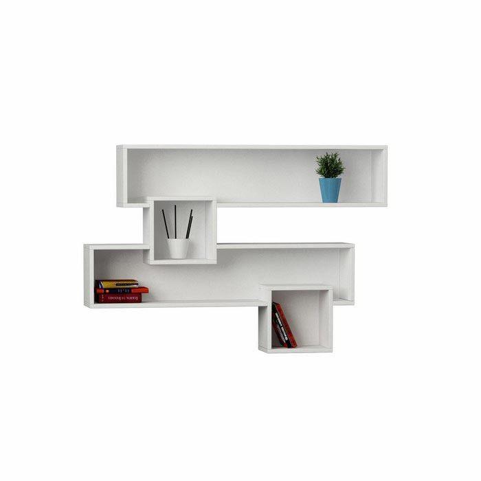 Decortie Salad Bookcase Wall Shelf Modern Furniture Deals